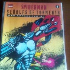 Cómics: SPIDERMAN SEÑALES DE TORMENTA PRESTIGIO. Lote 61119591