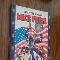 Cómics: NICK FURIA. JIM STERANKO. FORUM. BUEN ESTADO. TAPA DURA. . Lote 61180571