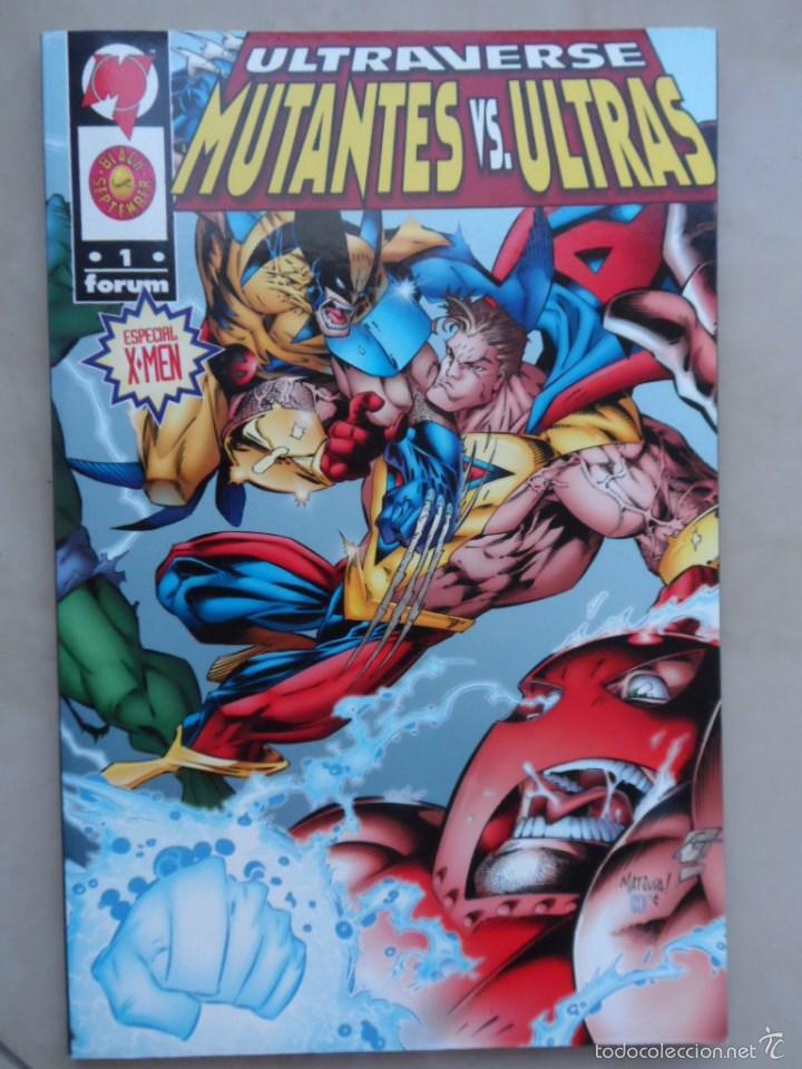 ULTRAVERSE: MUTANTES VS ULTRAS - POSIBLE ENVÍO GRATIS - FORUM - GERARD JONES & KEVIN WEST (X-MEN) (Tebeos y Comics - Forum - Prestiges y Tomos)