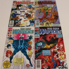 Cómics: NEW WARRIORS, 4 NUMEROS DEL VOLUMEN 1. NUEVOS GUERREROS, COMICS MARVEL.. Lote 61206511