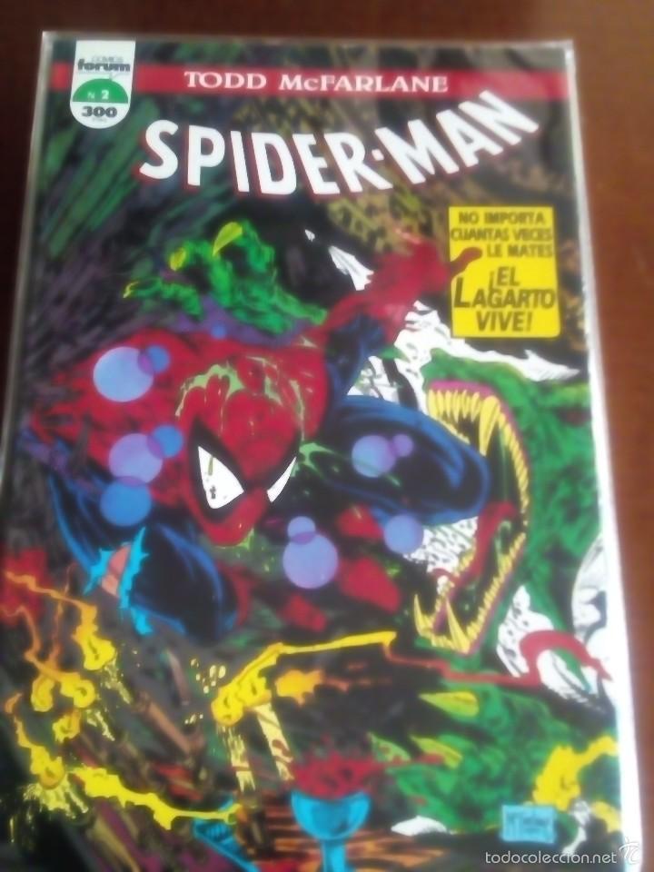 Cómics: SPIDER-MAN N-1 AL12 COLECCION COMPLETA TODD MACFARLANE - Foto 2 - 61282619