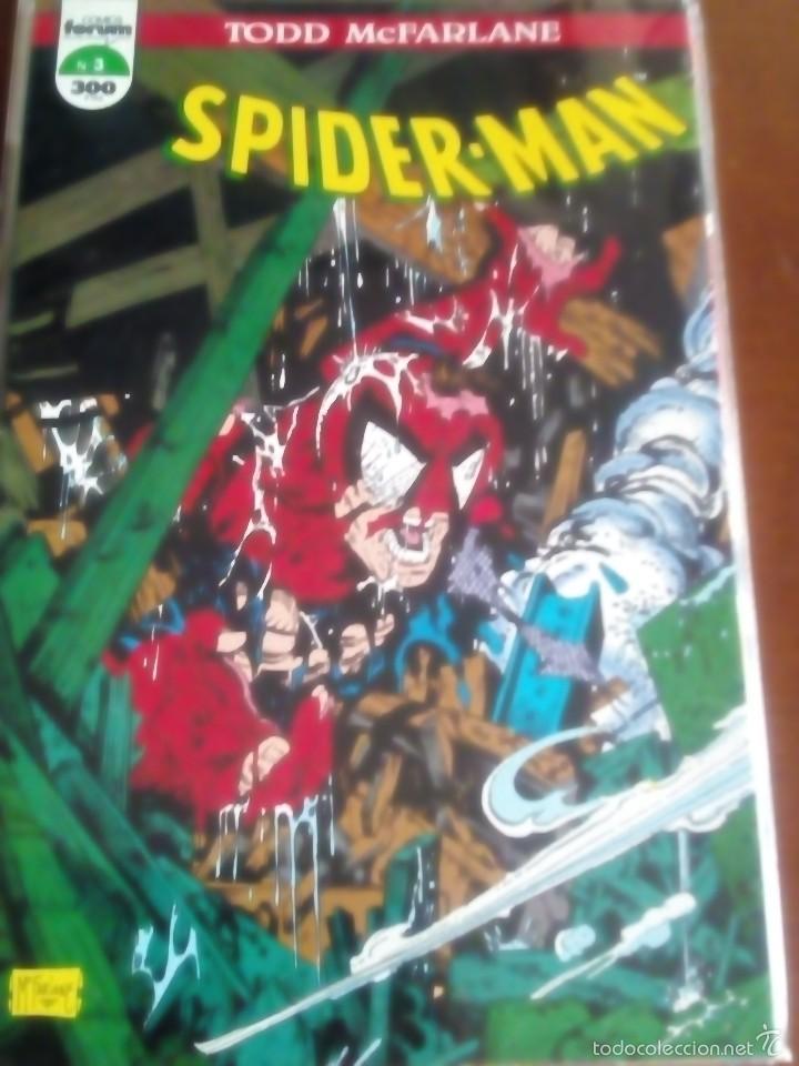 Cómics: SPIDER-MAN N-1 AL12 COLECCION COMPLETA TODD MACFARLANE - Foto 3 - 61282619