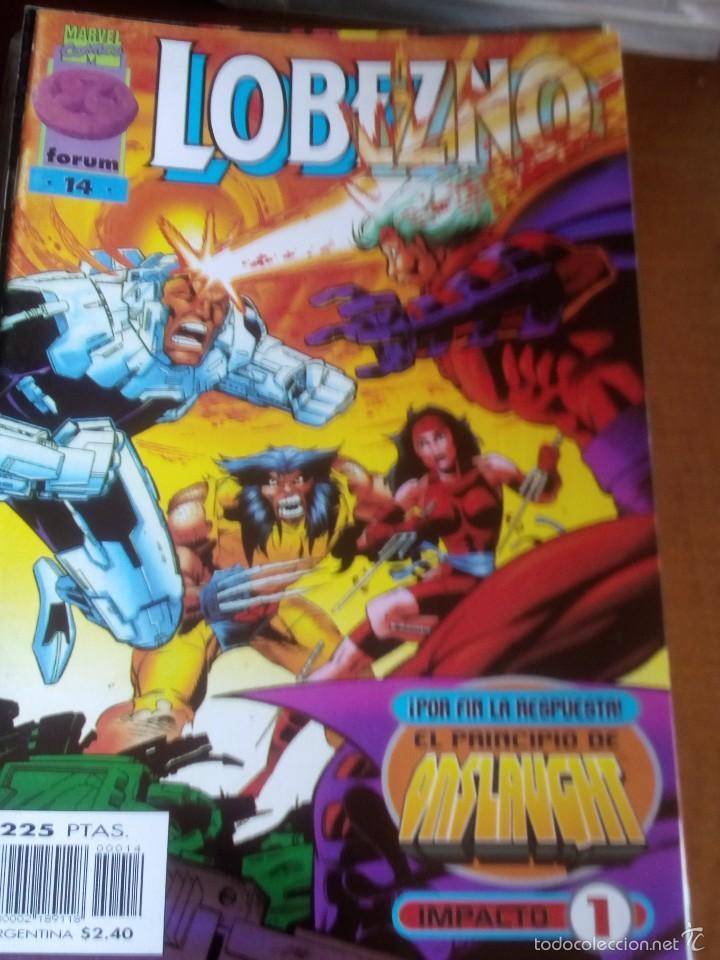 LOBEZNO N-14 VOL.2 COMO NUEVO (Tebeos y Comics - Forum - X-Men)