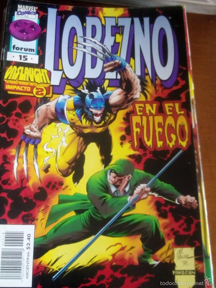 LOBEZNO N-15 VOL.2 COMO NUEVO (Tebeos y Comics - Forum - X-Men)