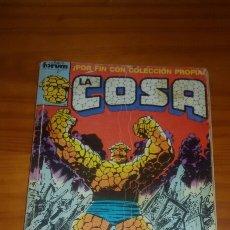 Cómics: LA COSA CONTIENE N°1 AL 5 DE LA MISMA COLECCION. Lote 61355987