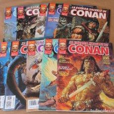 Cómics: LA ESPADA SALVAJE DE CONAN VOL II - 1 2 3 4 5 6 7 8 9 10 COMPLETA SERIE ORO - MUY BUEN ESTADO. Lote 61370383