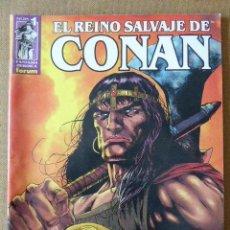 Cómics: EL REINO SALVAJE DE CONAN. Nº 1. FORUM. Lote 61390727