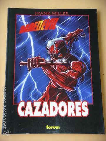 DAREDEVIL, CAZADORES, COL. OBRAS MAESTRAS, FRANK MILLER, ED. FORUM, 1997, TOMO PRESTIGE, C9 (Tebeos y Comics - Forum - Daredevil)