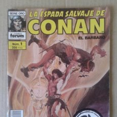 Cómics: LA ESPADA SALVAJE DE CONAN EL BÁRBARO, Nº1 (SEGUNDA EDICIÓN). SERIE ORO / CÓMICS FORUM.. Lote 61604824