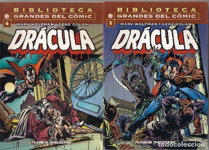 DRACULA- BIBLIOTECA GRANDES DEL COMIC- VOLS. 1º AL 6º (Tebeos y Comics - Forum - Prestiges y Tomos)