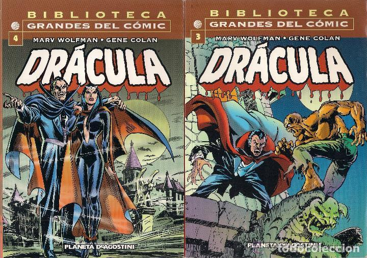 Cómics: DRACULA- BIBLIOTECA GRANDES DEL COMIC- VOLS. 1º AL 6º - Foto 2 - 61694044