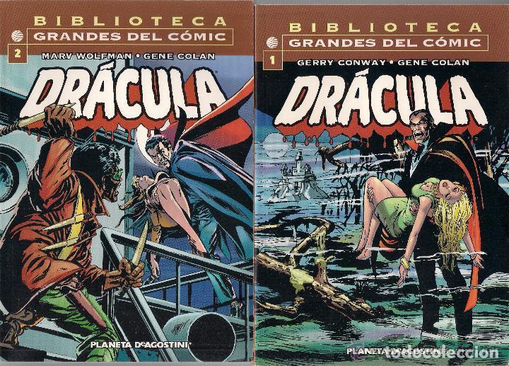 Cómics: DRACULA- BIBLIOTECA GRANDES DEL COMIC- VOLS. 1º AL 6º - Foto 3 - 61694044