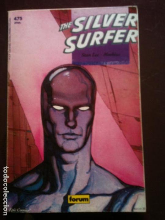 THE SILVER SURFER - STAN LEE Y MOEBIUS - TOMO - FORUM (Tebeos y Comics - Forum - Silver Surfer)