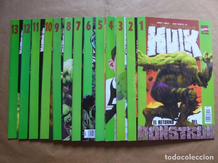 EL INCREIBLE HULK VOL. 2 - 1 A 13 COMPLETA - FORUM (Tebeos y Comics - Forum - Hulk)