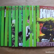 Cómics: EL INCREIBLE HULK VOL. 2 - 1 A 13 COMPLETA - FORUM. Lote 61741324