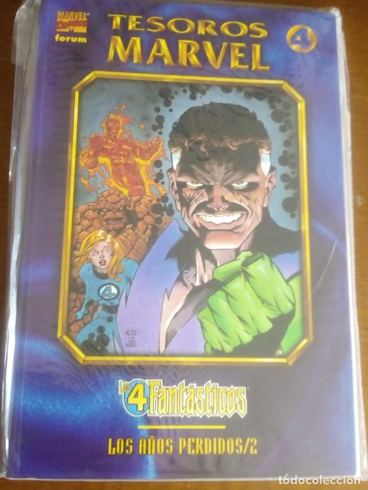 TESOROS MARVEL LOS 4 FANTASTICOS-2 COMO NUEVO L2P3 (Tebeos y Comics - Forum - Prestiges y Tomos)