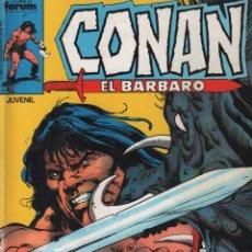 Cómics: CONAN EL BARBARO / LOS NO VIVOS Nº 126 , 127, 128, 129 , 130 / MUNDI-1764. Lote 61807420