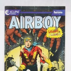 Cómics: CÓMIC AIRBOY - Nº 5. GARRAS Y COLMILLOS - ED. PLANETA - COMICS FORUM / ECLIPSE, AÑO 1990. Lote 61883056