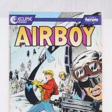 Cómics: CÓMIC AIRBOY - Nº 13 - ED. PLANETA - COMICS FORUM / ECLIPSE, AÑO 1991. Lote 61883432