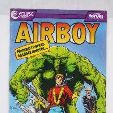 Cómics: CÓMIC AIRBOY - Nº 17. MANÍACO REGRESA DESDE...- ED. PLANETA - COMICS FORUM / ECLIPSE, AÑO 1991. Lote 61883488