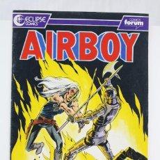 Cómics: CÓMIC AIRBOY - Nº 20 - ED. PLANETA - COMICS FORUM / ECLIPSE, AÑO 1991. Lote 61883752