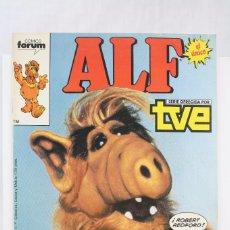 Cómics: CÓMIC ALF. EL ÚNICO - Nº 1 - SERIE DE TELEVISIÓN / TV - ED. PLANETA / FORUM COMICS, AÑO 1988. Lote 61884824