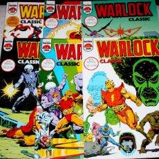 Cómics: WARLOCK CLASSIC.COLECCIÓN COMPLETA EN SEIS TOMOS ( COMO NUEVOS). Lote 61925740