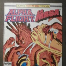 Cómics: COMIC - MARVEL TWO - IN - ONE - ALPHA FLIGHT - LA MASA - HULK - Nº 43 - FORUM -. Lote 62062328