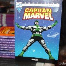 Cómics: CAPITAN MARVEL BIBLIOTECA MARVEL EXCELSIOR COMPLETA DEL 1 AL 10 FORUM. Lote 62160720