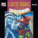 Cómics: CLASICOS MARVEL EN BLANCO Y NEGRO.02.SPIDERMAN.DESIGNIOS MORTALES.FORUM.. Lote 62218188