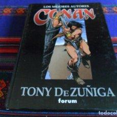 Cómics: FORUM. LOS MEJORES AUTORES DE CONAN Nº 8 TONY DE ZUÑIGA. AÑO 1998. TAPA DURA. MBE.. Lote 134334091