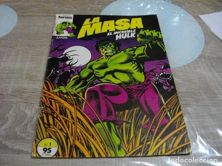 COMICS LA MASA Nº1 EL DE LAS FOTOS -CREO QUE PROVIENE DE RETAPADO VER TODOS MIS LOTES DE TEBEOS (Tebeos y Comics - Forum - Hulk)