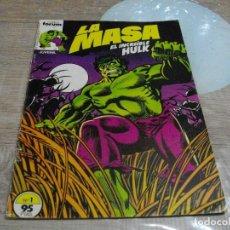 Cómics: COMICS LA MASA Nº1 EL DE LAS FOTOS -CREO QUE PROVIENE DE RETAPADO VER TODOS MIS LOTES DE TEBEOS. Lote 62246492