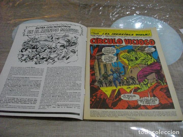 Cómics: COMICS LA MASA Nº1 EL DE LAS FOTOS -CREO QUE PROVIENE DE RETAPADO VER TODOS MIS LOTES DE TEBEOS - Foto 2 - 62246492