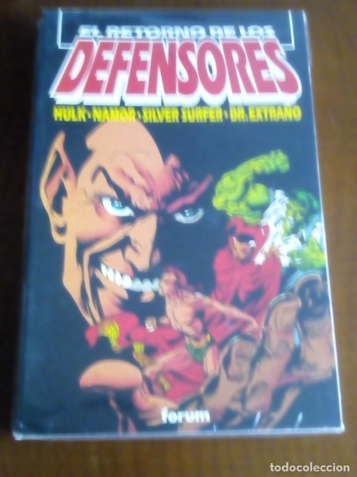 EL RETORNO DE LOS DEFENSORES EXTRA VERANO TOMO COMO NUEVO L2P3 (Tebeos y Comics - Forum - Prestiges y Tomos)