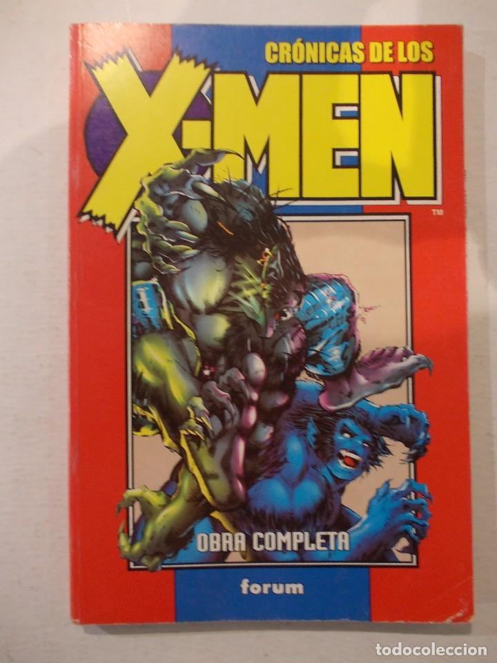 CRONICAS DE LOS X MEN-TOMO COLECCION COMPLETA- EJEMPLARES DEL 1 AL 5FORUM (Tebeos y Comics - Forum - Retapados)