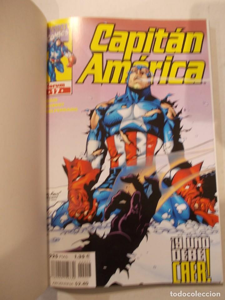 Cómics: CAPITAN AMERICA TOMO 4-cONTIENE DEL 17 AL 22-ED.FORUM - Foto 2 - 62285684