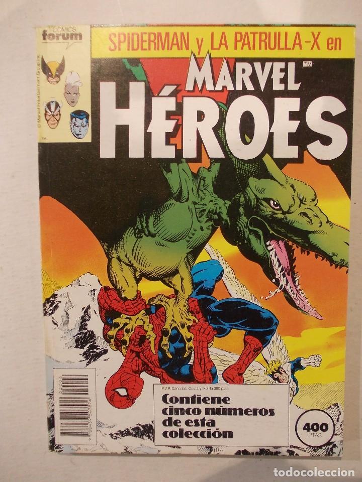 MARVEL HEROES-TOMO-CONTIENE DEL 31 AL 35-ED.FORUM (Tebeos y Comics - Forum - Retapados)