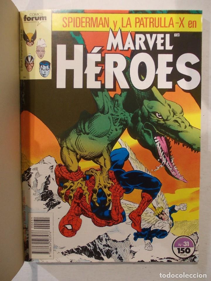 Cómics: MARVEL HEROES-TOMO-CONTIENE DEL 31 AL 35-ED.FORUM - Foto 2 - 62286108