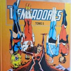 Cómics: LOS VENGADORES. TOMO 3 NS. 11 AL 15. FORUM. Lote 62358376