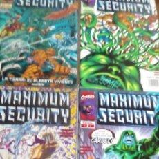 Cómics: MAXIMUM SECURITY N-1 AL 4 COMPLETA. Lote 62384216