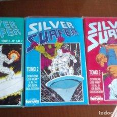 Cómics: SILVER SURFER VOL2 AÑO 1990 N-1 AL 21 COMPLETA COMO NUEVOS L2P3. Lote 62411164