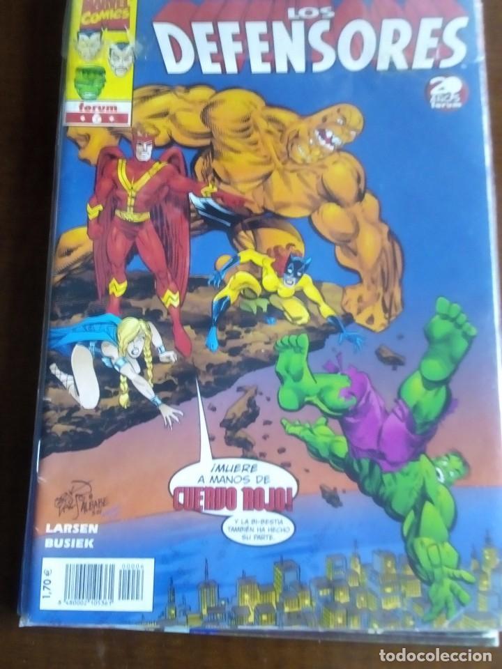 LOS DEFENSORES N-6 COMO NUEVO L2P3 (Tebeos y Comics - Forum - Otros Forum)