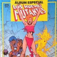 Cómics: ALBÚM ESPECIAL - CAPITÁN AMÉRICA Y LOS NUEVOS MUTANTES. EDITORIAL FORUM.. Lote 62454044
