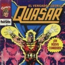 Cómics: QUASAR Nº 1 - FORUM. Lote 62461460