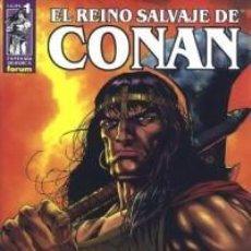 Cómics: EL REINO SALVAJE DE CONAN Nº 1 - FORUM. Lote 62560368