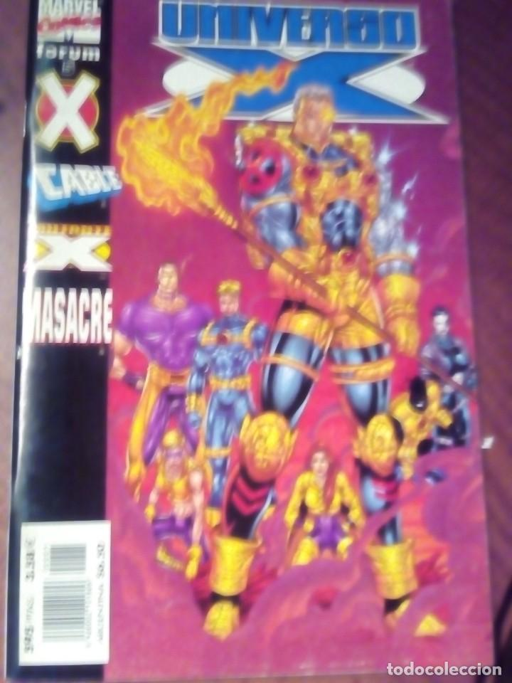 UNIVERSO X N-5 (Tebeos y Comics - Forum - X-Men)