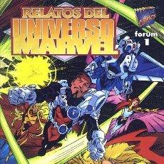 Fumetti: RELATOS DEL UNIVERSO MARVEL - FORUM - IMPECABLE. Lote 62681328