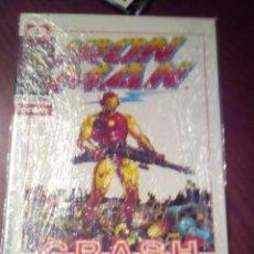 Cómics: IRON MAN CRASH N-1 Y N-2 NOVELA GRAFICA L2P3. Lote 62882676