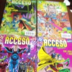 Cómics: DC-MARVEL ACCESO TOTAL 4 NUMEROS ESPECIALES COMPLETA L2P3. Lote 62887796